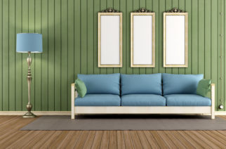 Klasické zakomponovanie dreva do interiéru si stále zachováva svoj štýl