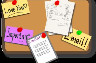 Nástenka: na plánovanie a prehľadné informácie aj vo vašej domácnosti!